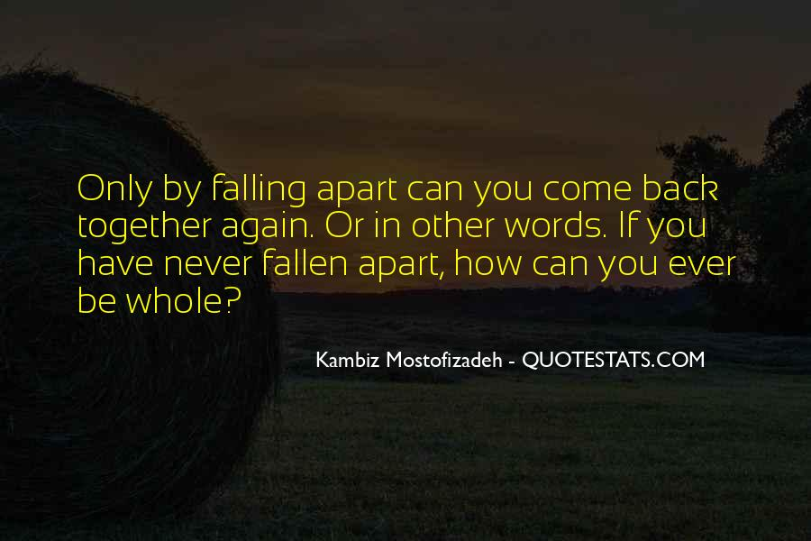 Quotes About Falling All Over Again #393410