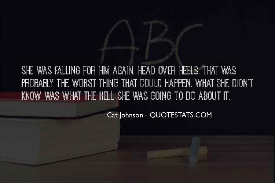 Quotes About Falling All Over Again #563653