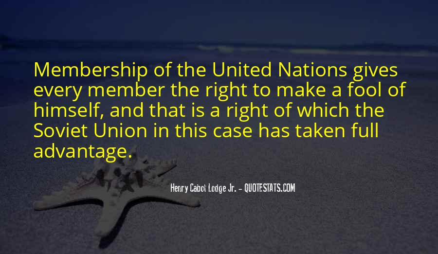 Quotes About Union Membership #639698