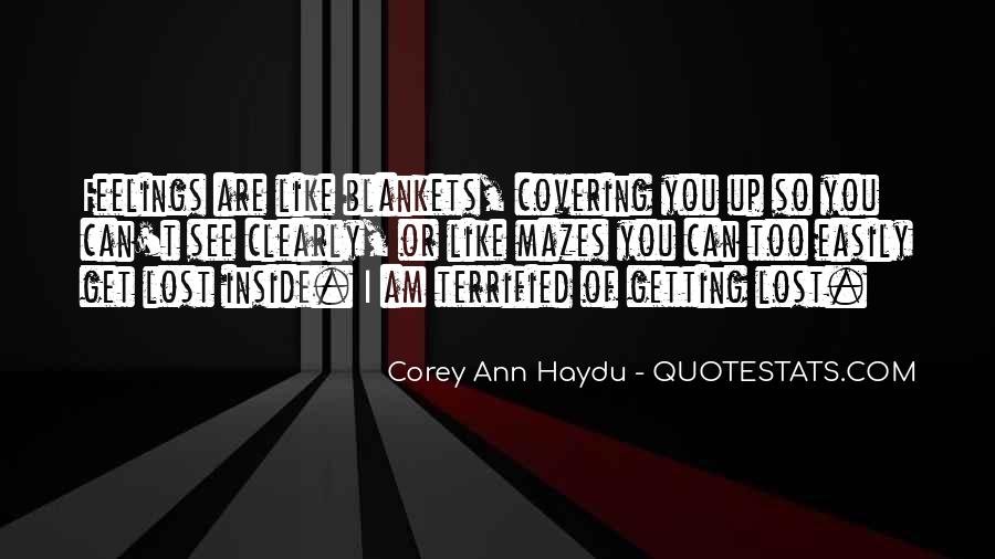Quotes About Covering Up Feelings #1374158