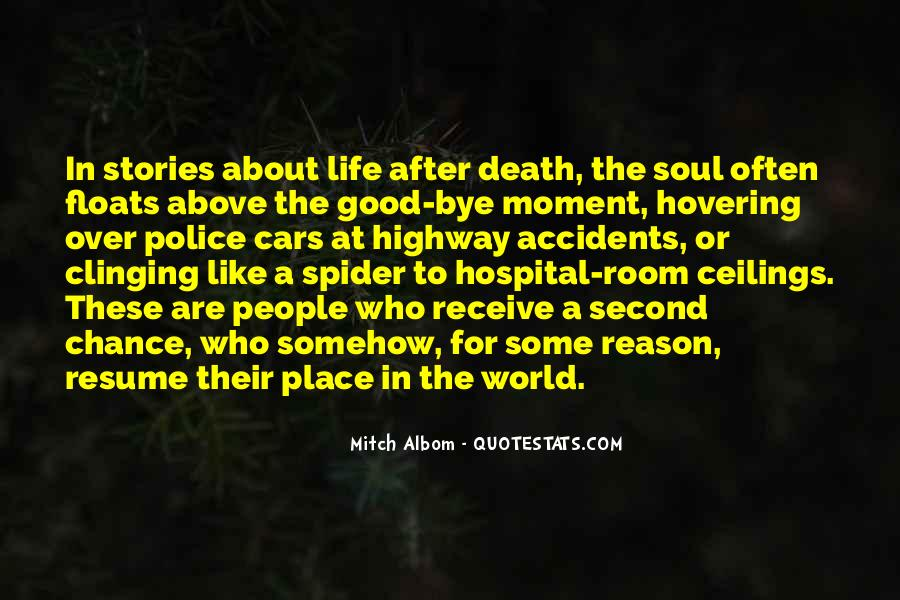Quotes About Accidents Death #1019533