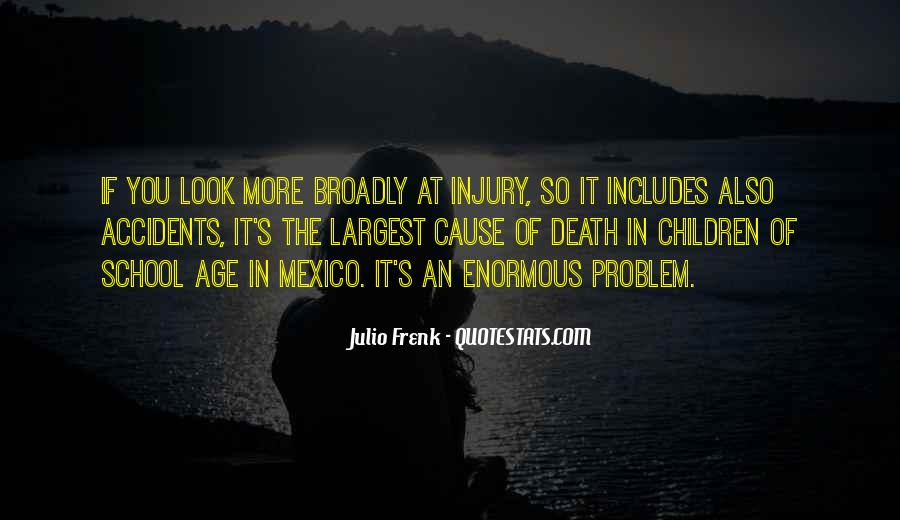 Quotes About Accidents Death #748857