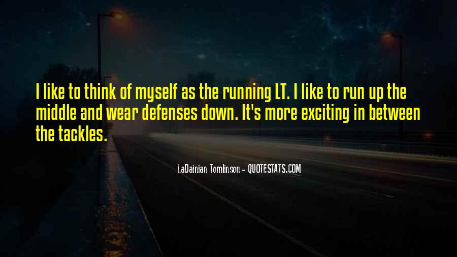 Quotes About Defenses #1024573
