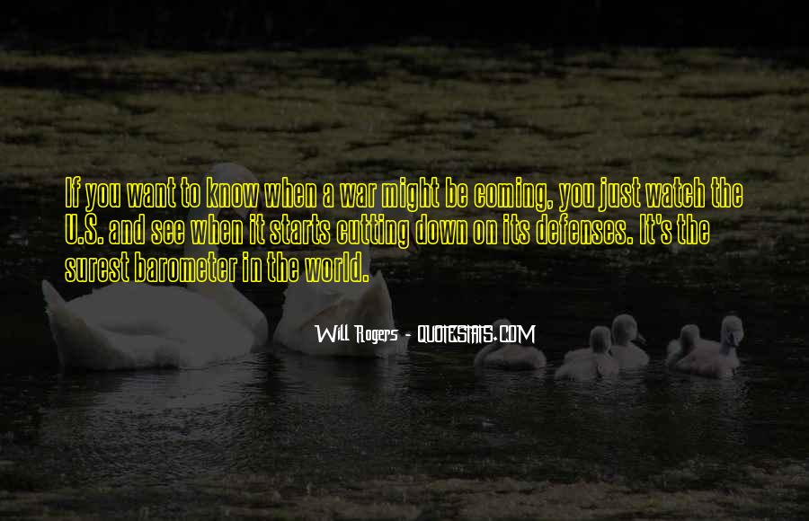 Quotes About Defenses #1030271