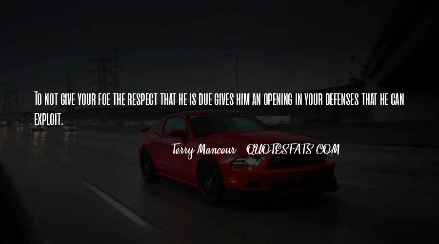 Quotes About Defenses #1041352