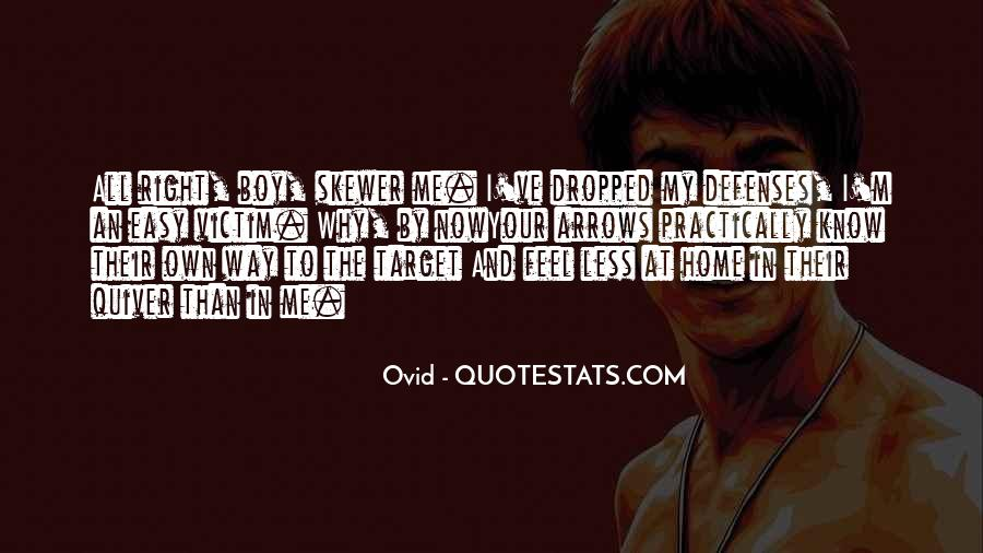Quotes About Defenses #1213656