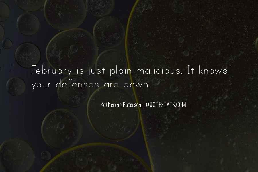 Quotes About Defenses #1259092