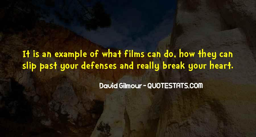Quotes About Defenses #18151