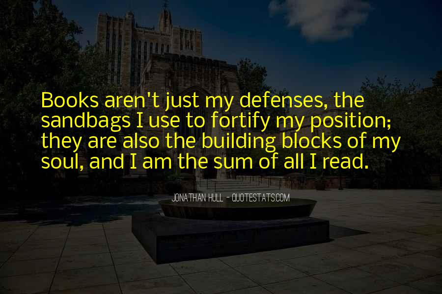 Quotes About Defenses #355159