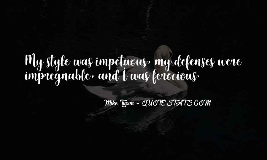 Quotes About Defenses #415986