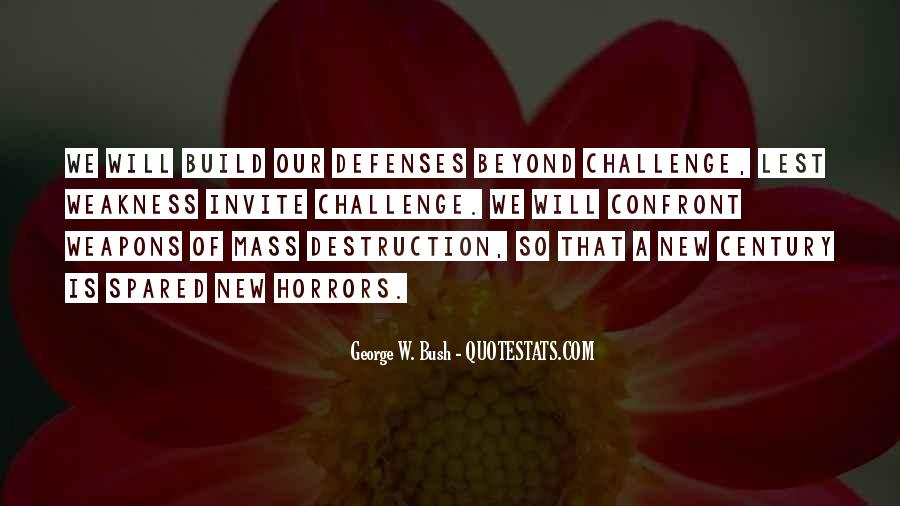Quotes About Defenses #496114