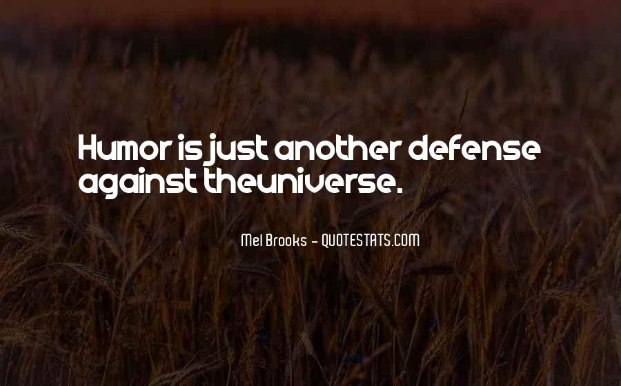 Quotes About Defenses #524920