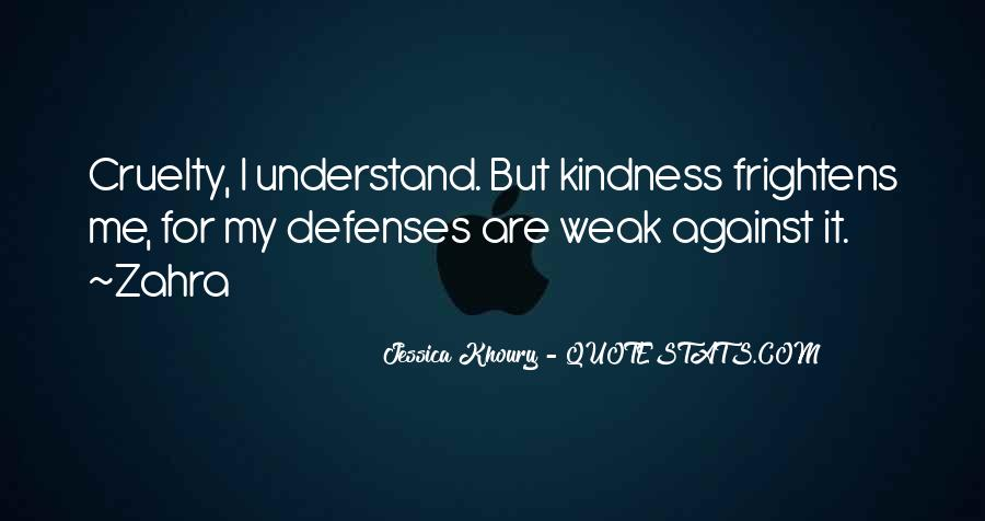 Quotes About Defenses #566536