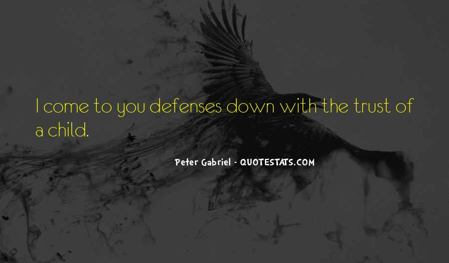 Quotes About Defenses #566749