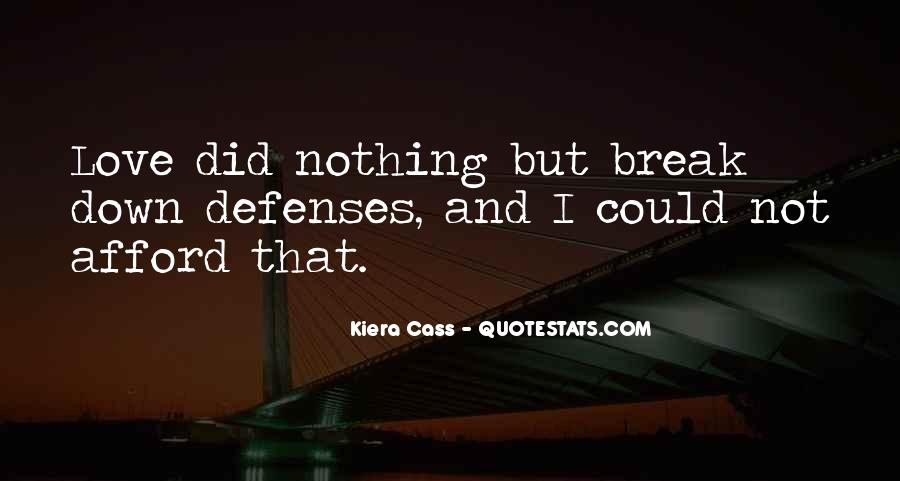 Quotes About Defenses #766508