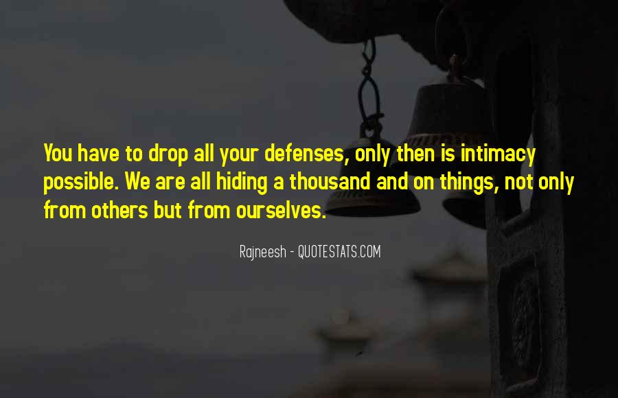 Quotes About Defenses #807753