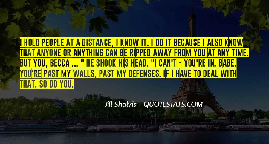 Quotes About Defenses #847403