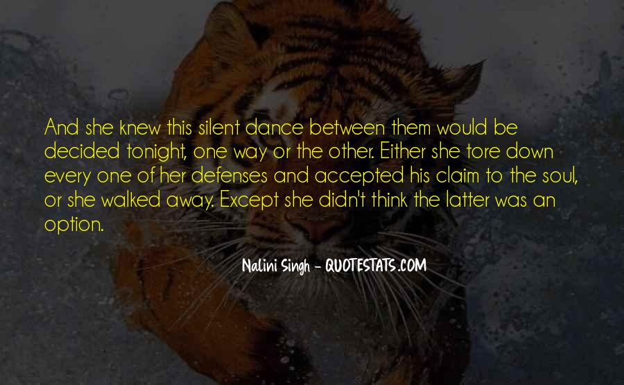 Quotes About Defenses #904303