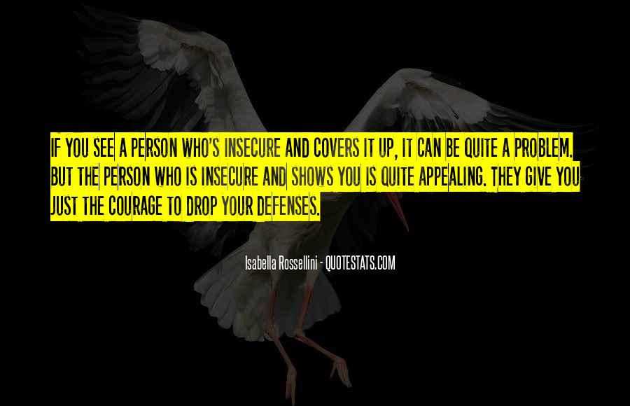 Quotes About Defenses #922709