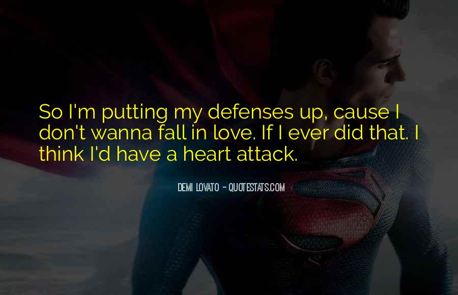 Quotes About Defenses #95091