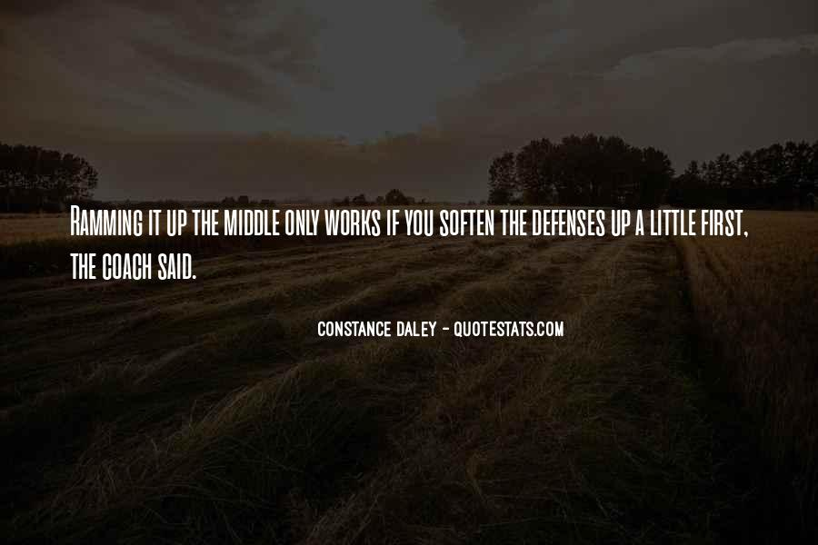 Quotes About Defenses #982892