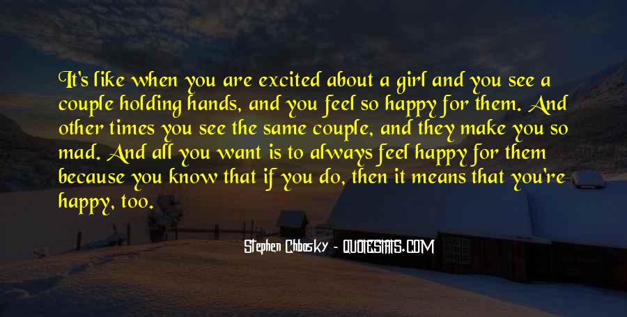 Quotes About What Every Girl Wants #9738