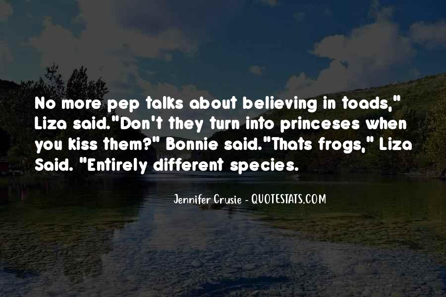 Quotes About Pep Talks #681442