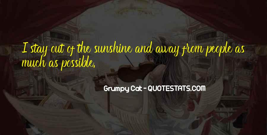 Quotes About Grumpy #228201