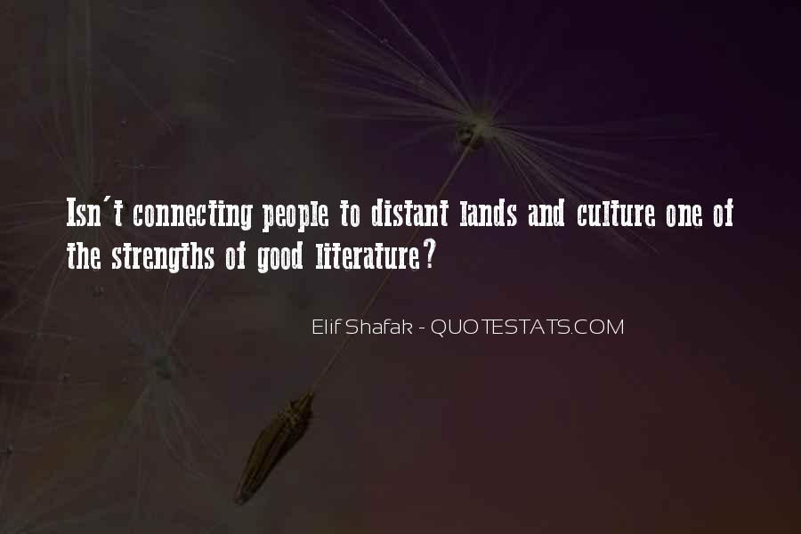 Quotes About Connecting To Literature #1381055