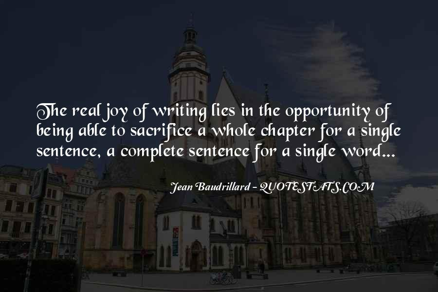 Quotes About The Joy Of Writing #1043792