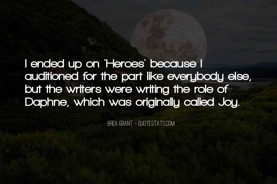Quotes About The Joy Of Writing #1116816