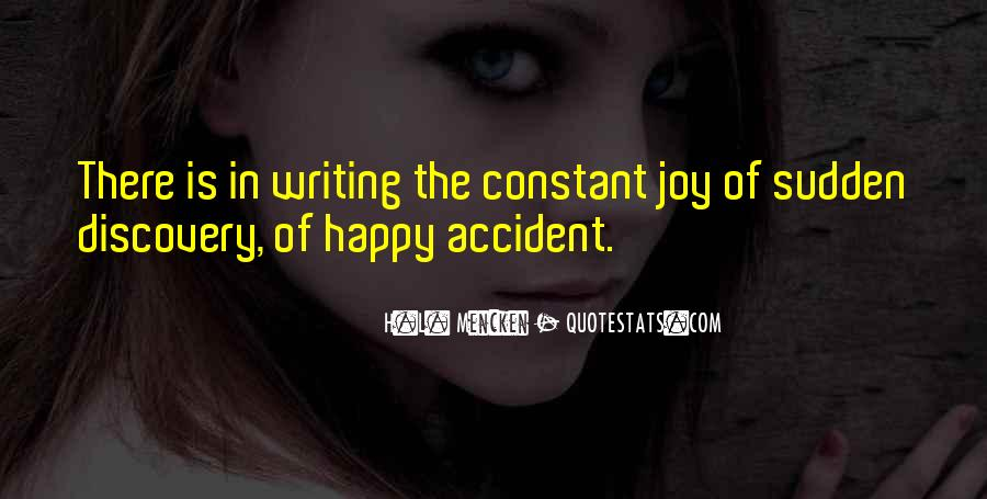 Quotes About The Joy Of Writing #1210889