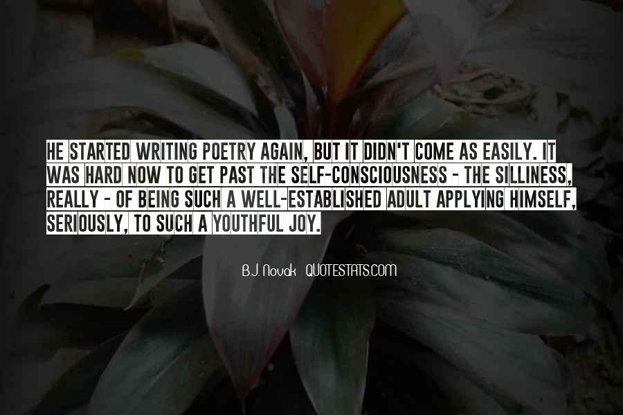 Quotes About The Joy Of Writing #1271630