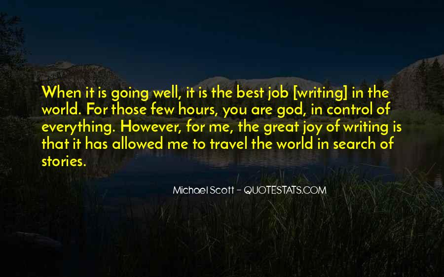 Quotes About The Joy Of Writing #1300957