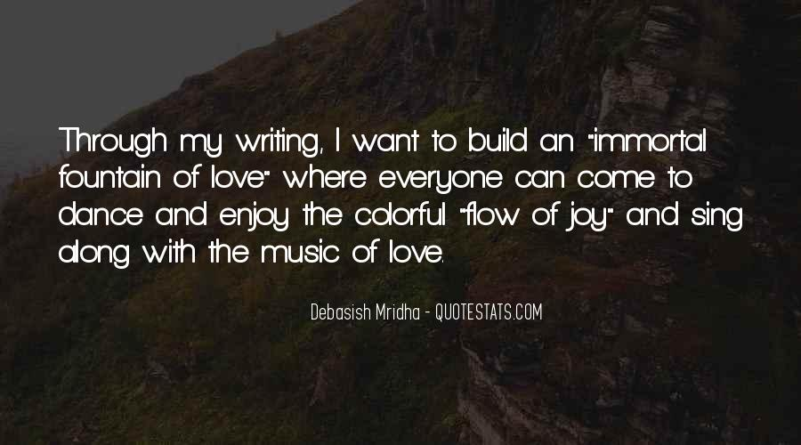 Quotes About The Joy Of Writing #1338980
