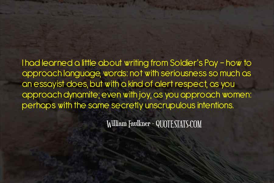 Quotes About The Joy Of Writing #1367595