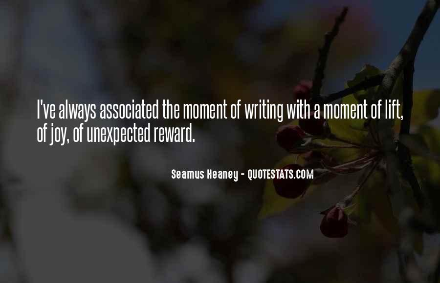 Quotes About The Joy Of Writing #14102