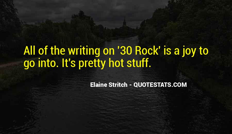 Quotes About The Joy Of Writing #144407