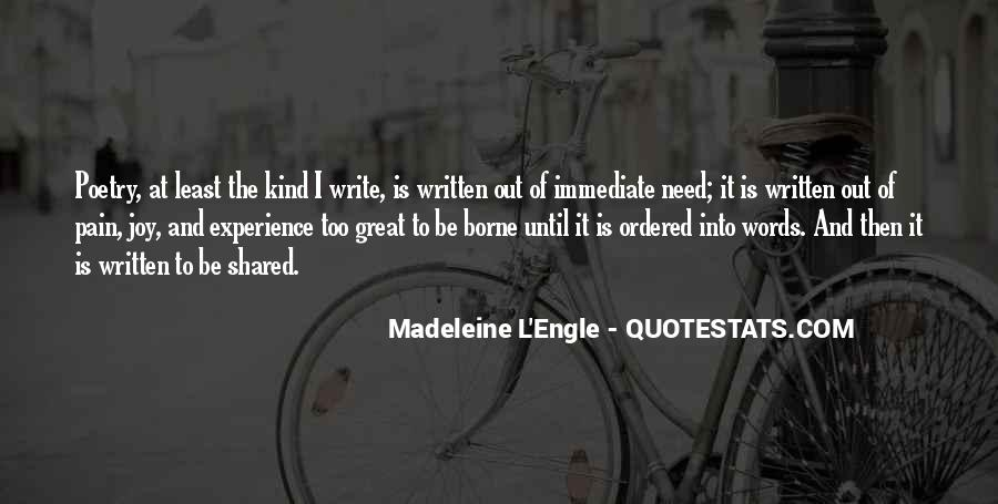 Quotes About The Joy Of Writing #1485402