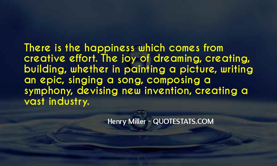 Quotes About The Joy Of Writing #1608537