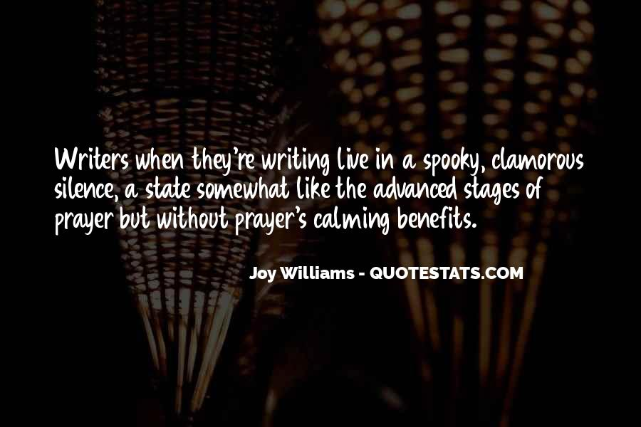 Quotes About The Joy Of Writing #1726824