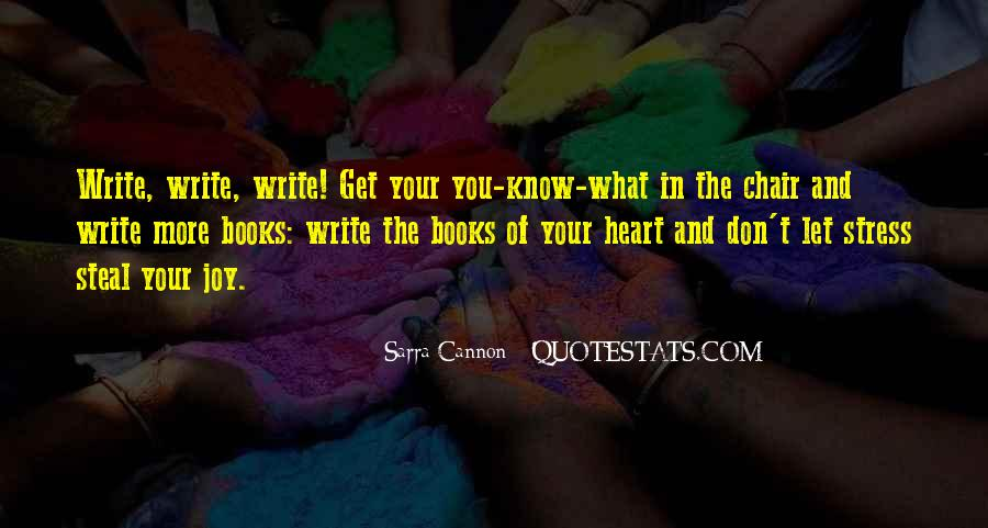 Quotes About The Joy Of Writing #190419