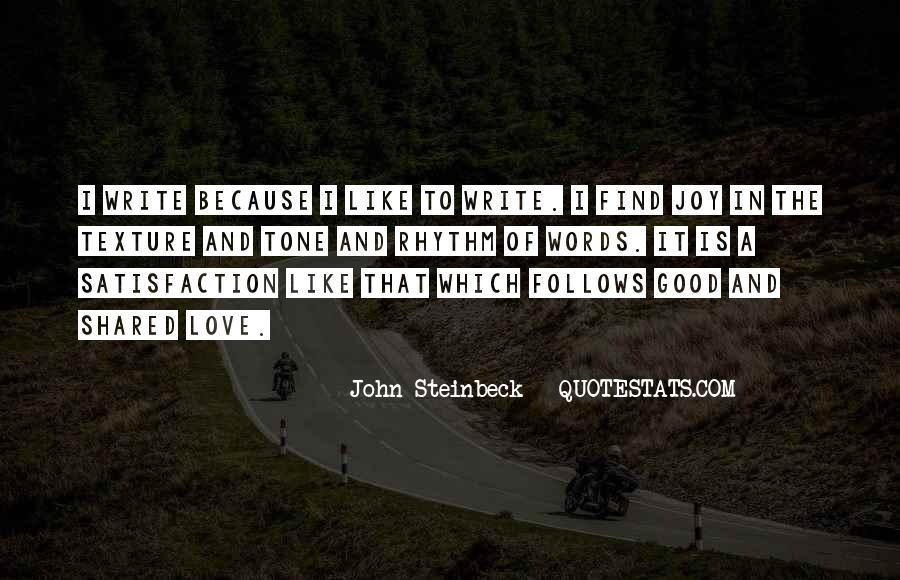 Quotes About The Joy Of Writing #38698