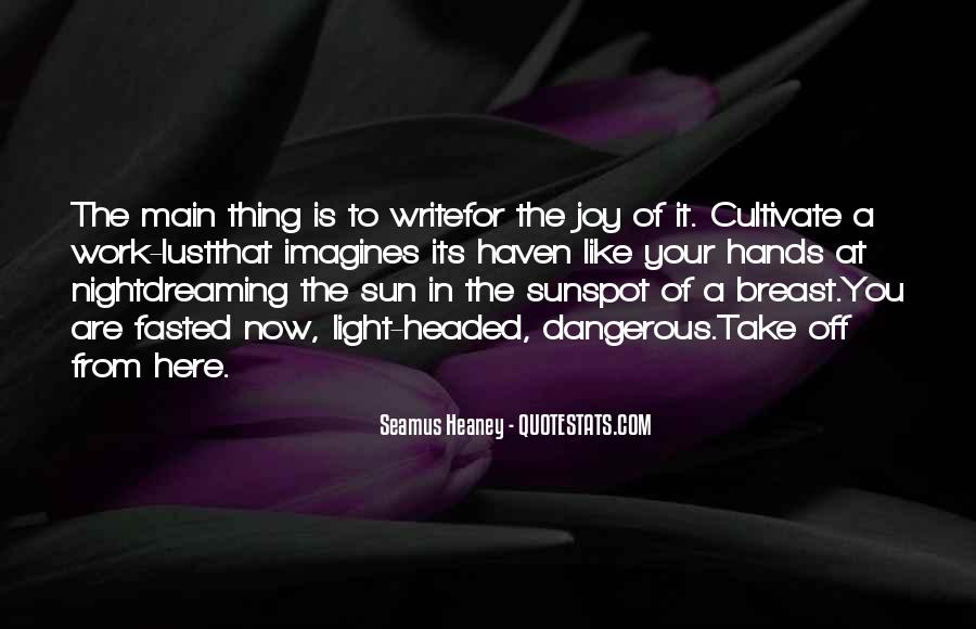 Quotes About The Joy Of Writing #494818