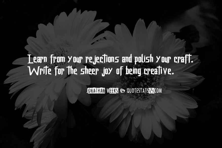 Quotes About The Joy Of Writing #663348