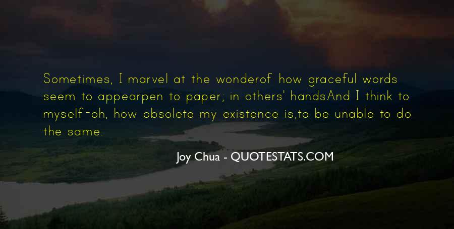 Quotes About The Joy Of Writing #877907