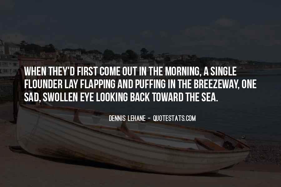 Quotes About Looking Someone In The Eye #38248