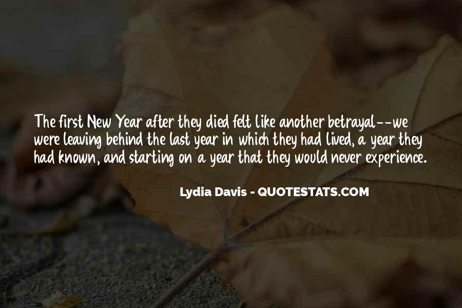 Quotes About Leaving The Past Behind And Starting New #721133