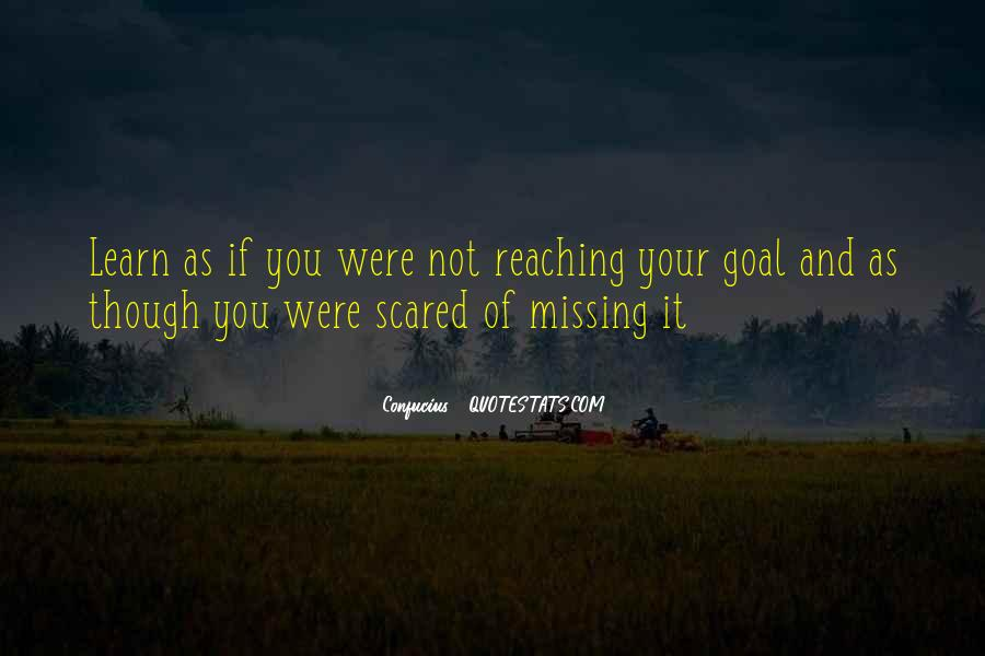 Quotes About Reaching Your Goal In Life #1549328