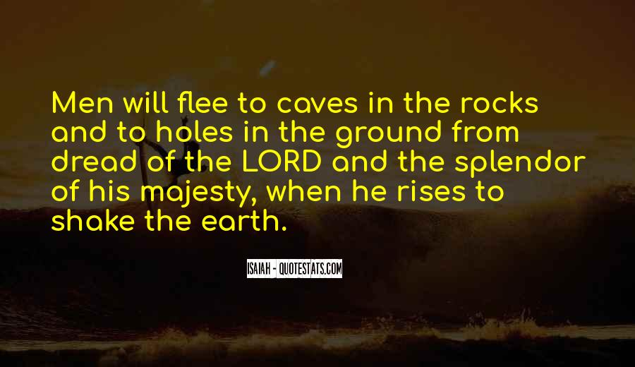 Quotes About Holes In The Ground #831124